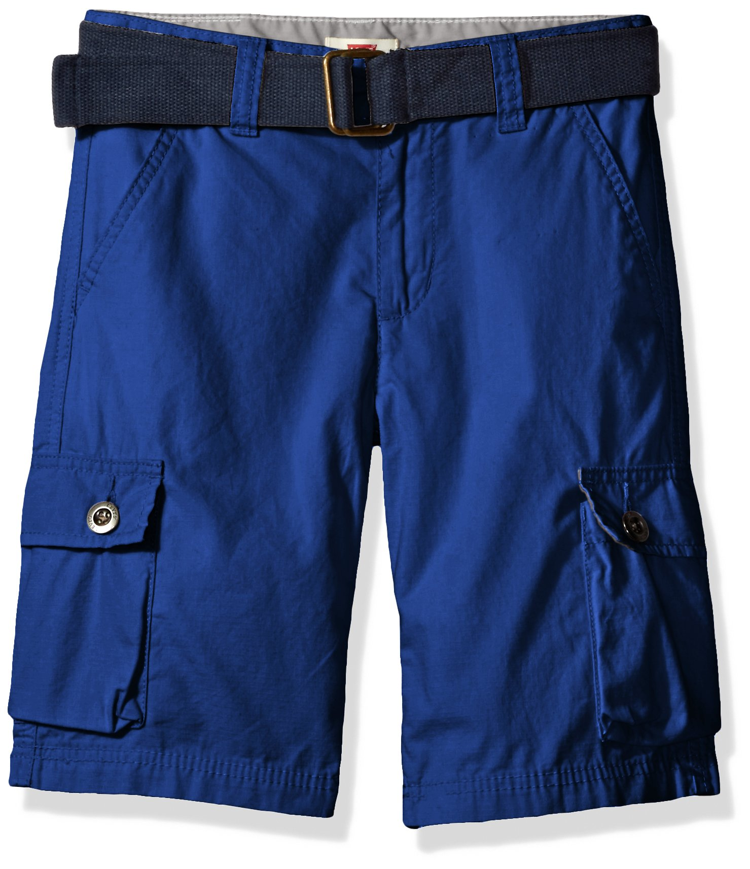 Levi's Boys' Big Cargo Shorts, Sodalite Blue, 12 by Levi's