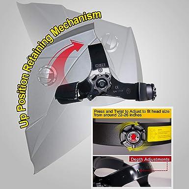 Amazon.com: Antra AH6-260-0000 - Casco de soldadura para ...
