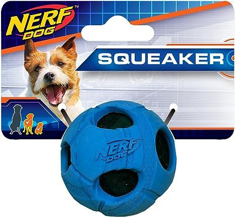 Nerf Perro XS Goma Envuelto Bash Pelota de Tenis Azul Perro ...