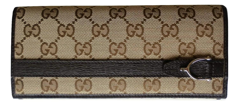gucci italia - Cartera para Mujer Marrón marrón 19x3x9: Amazon.es: Equipaje