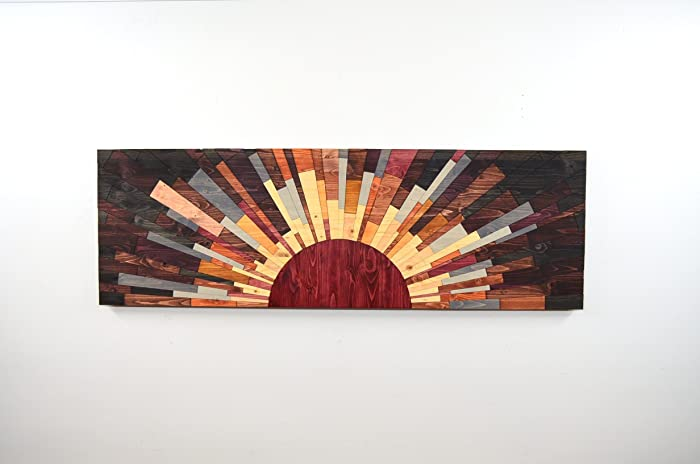 Amazon Com Wood Wall Art Edge Of The Day Wooden Art Wall Art