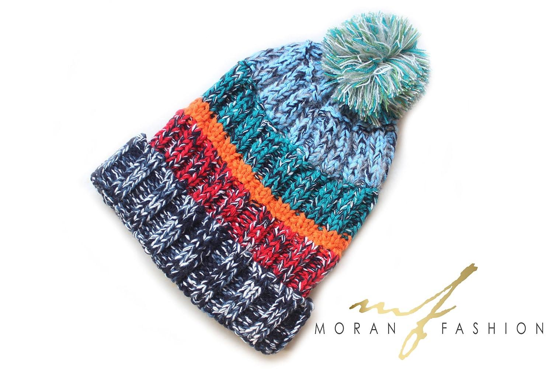 Moretti Women Fashion Luxuries Winter Warm Beanie Hat New Cute Design