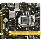BIOSTAR Intel H110チップセット搭載 LGA1151 Micro ATXマザーボード H110MHV3