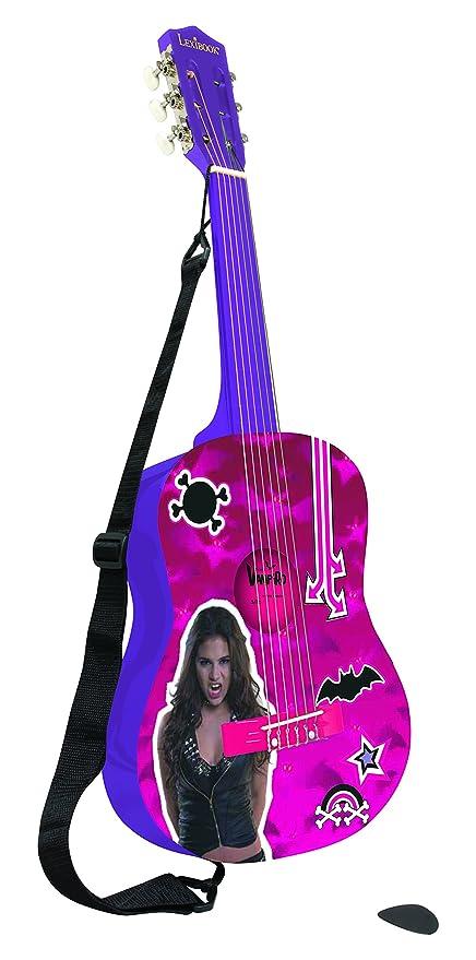Chica Vampiro Chica Vampiro-K2000CV Disney Guitarra Clásica Color Fucsia Lexibook K2000CV