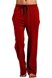 Cyz Men S 100 Cotton Poplin Pajama Lounge Sleep Pant At Amazon