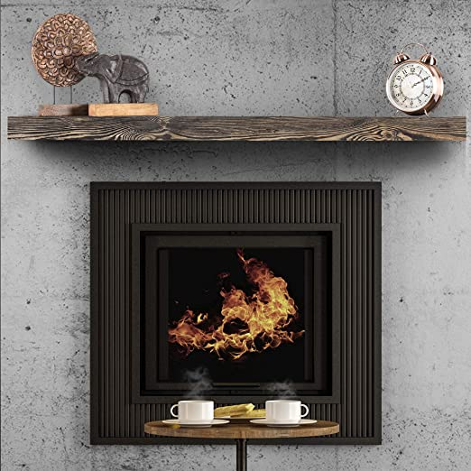 Amazon Com Boscomondo Rustic Fireplace Mantel Floating Shelf 60