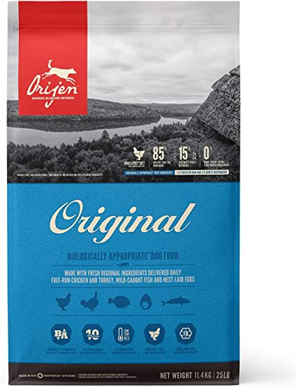 Orijen ORIGINAL - Comida para perro 11,4 KG 1 Saco ...