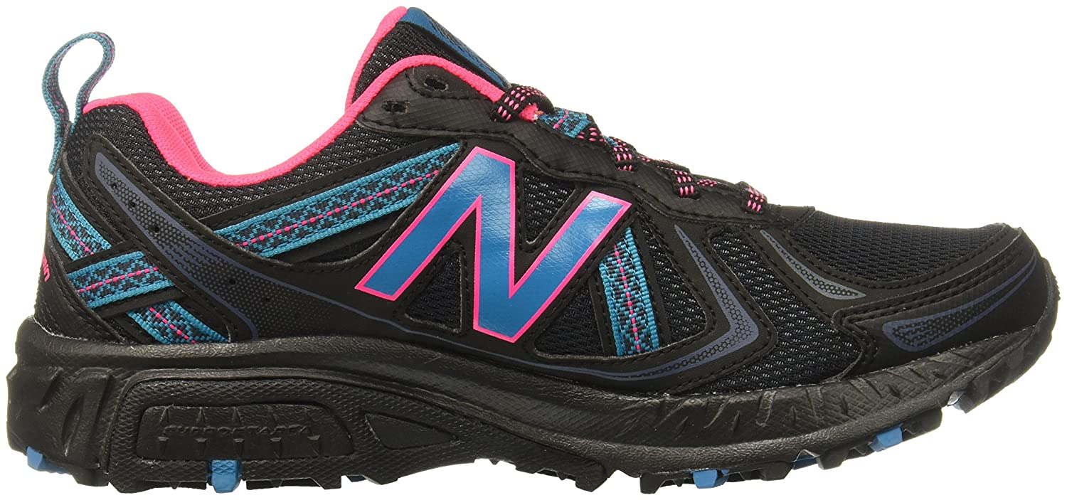 New Balance Women's WT410v5 Cushioning Trail D Running Shoe B01LY3S3WI 5.5 D Trail US|Black 9367c4