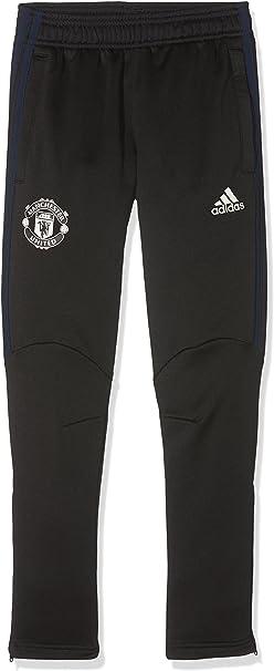 adidas MUFC Pre Pnt Y Pantalón de Chándal Manchester United ...