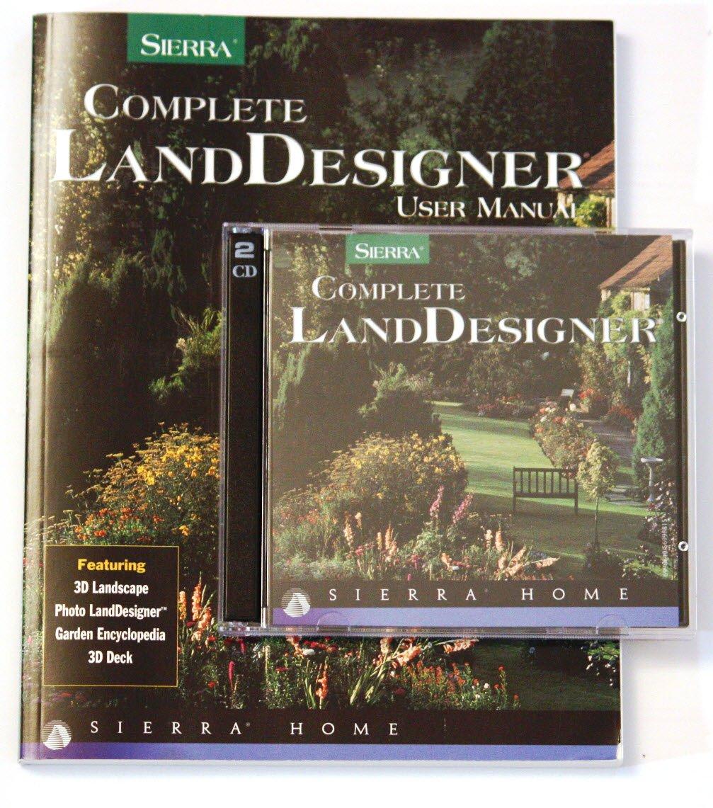 Amazon.com: Sierra Complete LandDesigner: Design and plan your ...