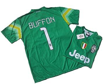save off 4d755 a67ba Men's Buffon Juventus Official 2014 - 15 Juve Replica Adult ...