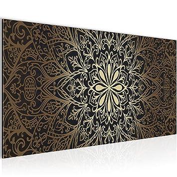 Bilder Mandala Abstrakt Wandbild Vlies Leinwand Bild Xxl Format