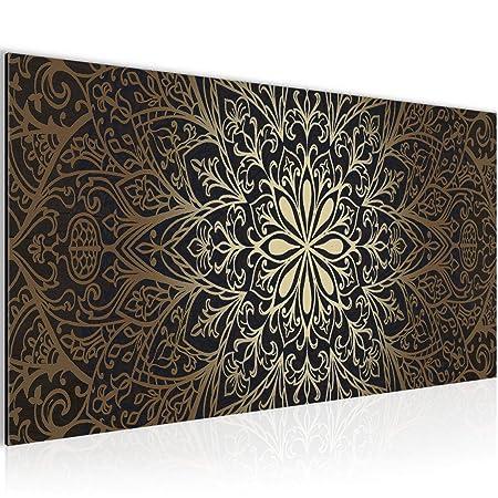 Bilder Mandala Abstrakt Wandbild Vlies - Leinwand Bild XXL Format ...