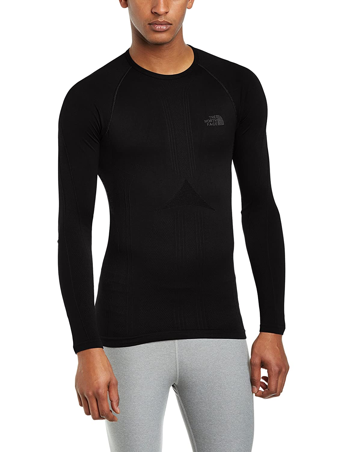 f047cc083 The North Face Men's Hybrid Crew Neck Long Sleeve Base Layer