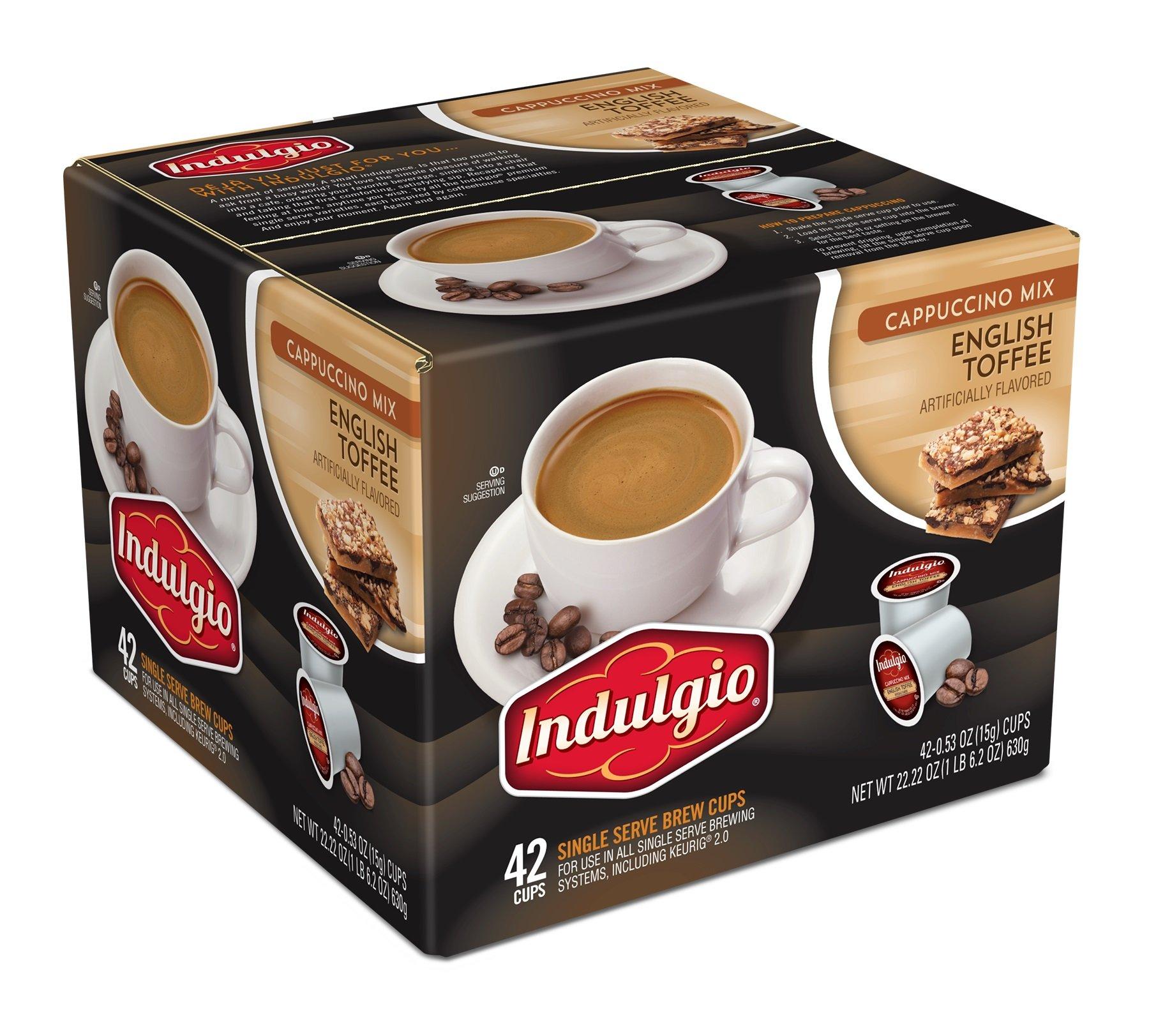 Indulgio Cappuccino Sweet & Salty Caramel 12 Count Single Serve