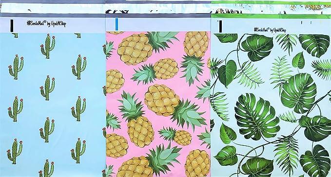 Bakers CUPCAKE Poly Mailer Bags Designer Envelope Bags Self Adhesive 10 x 13 Inch Set 10 Treats