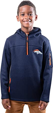 Ultra Game NFL Boys Moisture Wicking Athletic Performance Pullover Sweatshirt Hoodie
