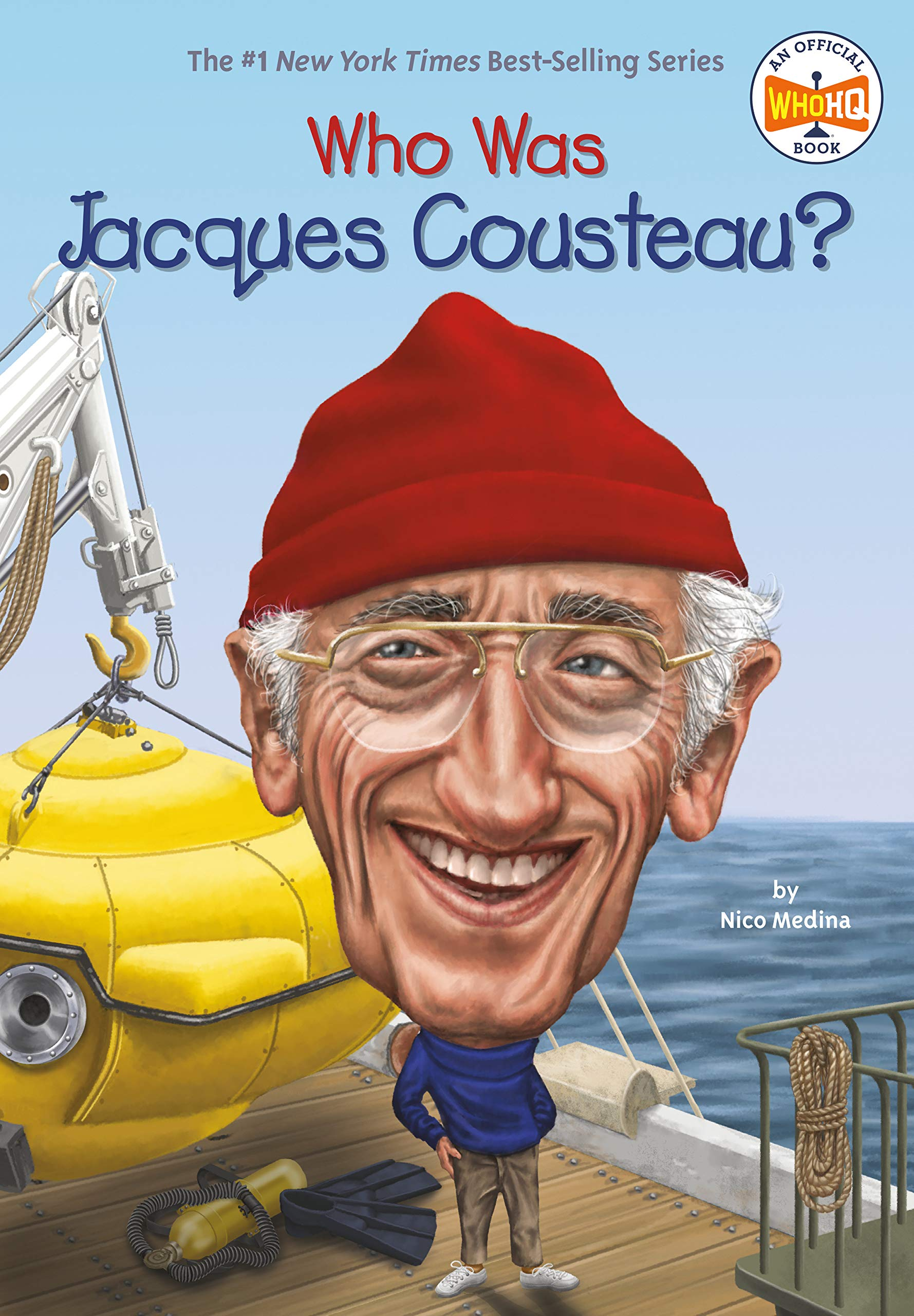 Who Was Jacques Cousteau Medina Nico Who Hq Putra Dede 2015448482347 Amazon Com Books