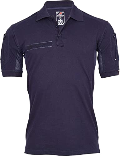Copytec Polo táctico Alfa Azul Marino policía Bombero Ropa Profesional Camisa # 22403: Amazon.es: Ropa y accesorios