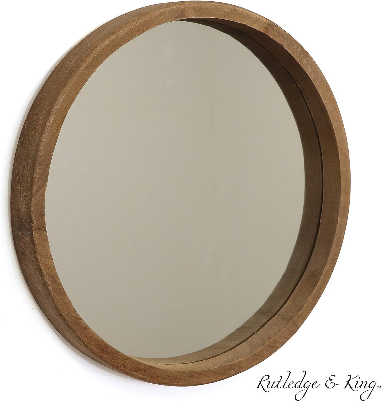 Rutledge & King Riverside Wooden Mirror –...