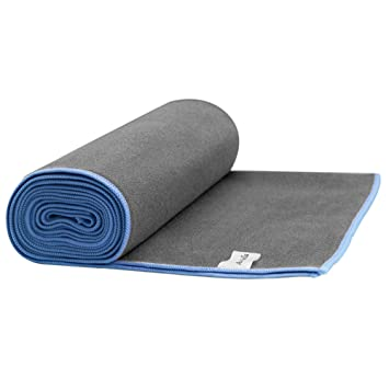 Au Bella Microfibra Toalla de Hot Yoga towel,Antideslizante,super Absorbente,máquina Lavable and Secado Rápido,suit size (183 x 61 cm)para yoga mat toalla: ...