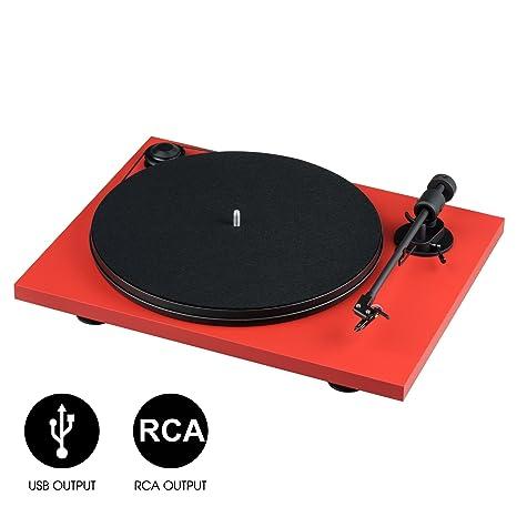 Pro-Ject Primary Phono USB Rojo: Amazon.es: Instrumentos musicales