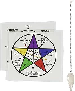 Amazon com: Hao Run Tarot Table Pendulum Chart Crystal Velvet