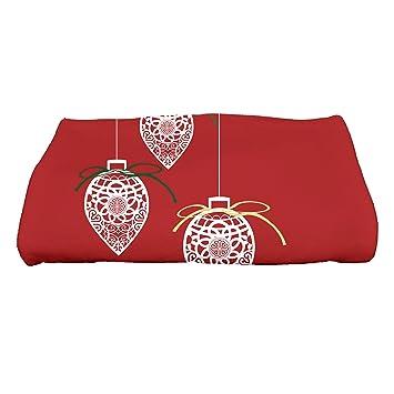 E por diseño adornos de vacaciones deseos Filigrana geométrico impresión toalla de baño: Amazon.es: Hogar