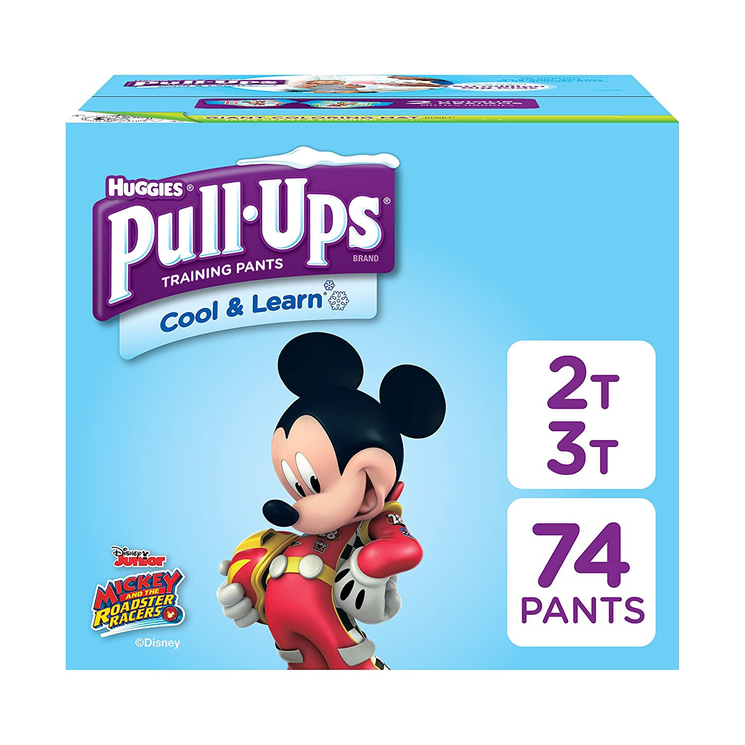 Pull-Ups Cool /& Learn Training Pants for Boys Packaging May Vary 38-50 lbs. Toddler Potty Training Underwear 56 Count 4T-5T