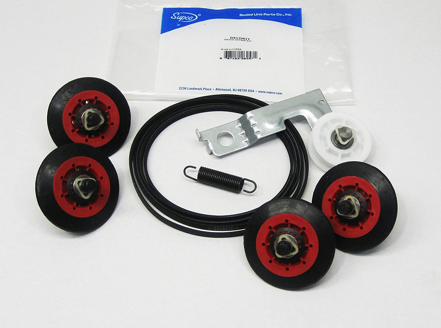 Dryer Repair Maintenace Kit for LG Belt Idler Pulley Rollers