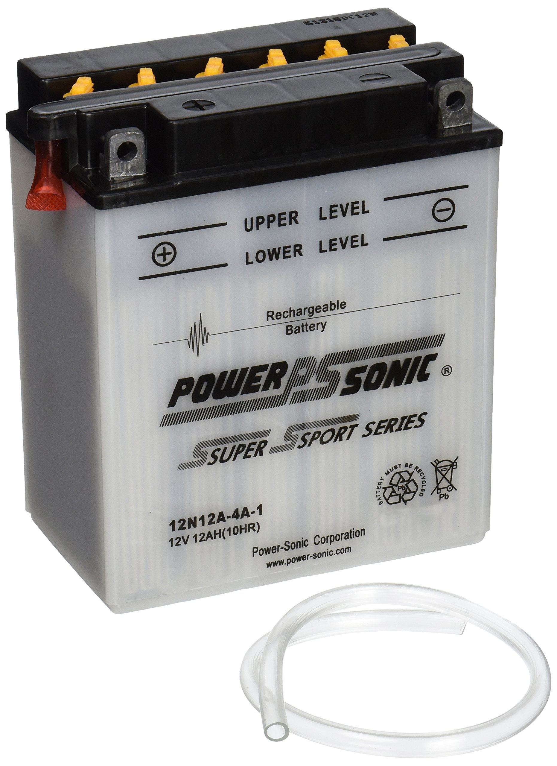 Power-Sonic 12N12A-4A-1 Conventional Powersport Battery