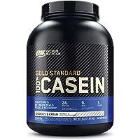 OPTIMUM NUTRITION GOLD STANDARD 100% Micellar Casein Protein Powder, 4 Pounds