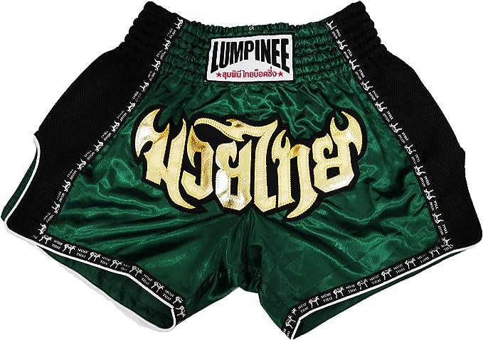 Lumpinee pantalones cortos retro originales de Muay Thai