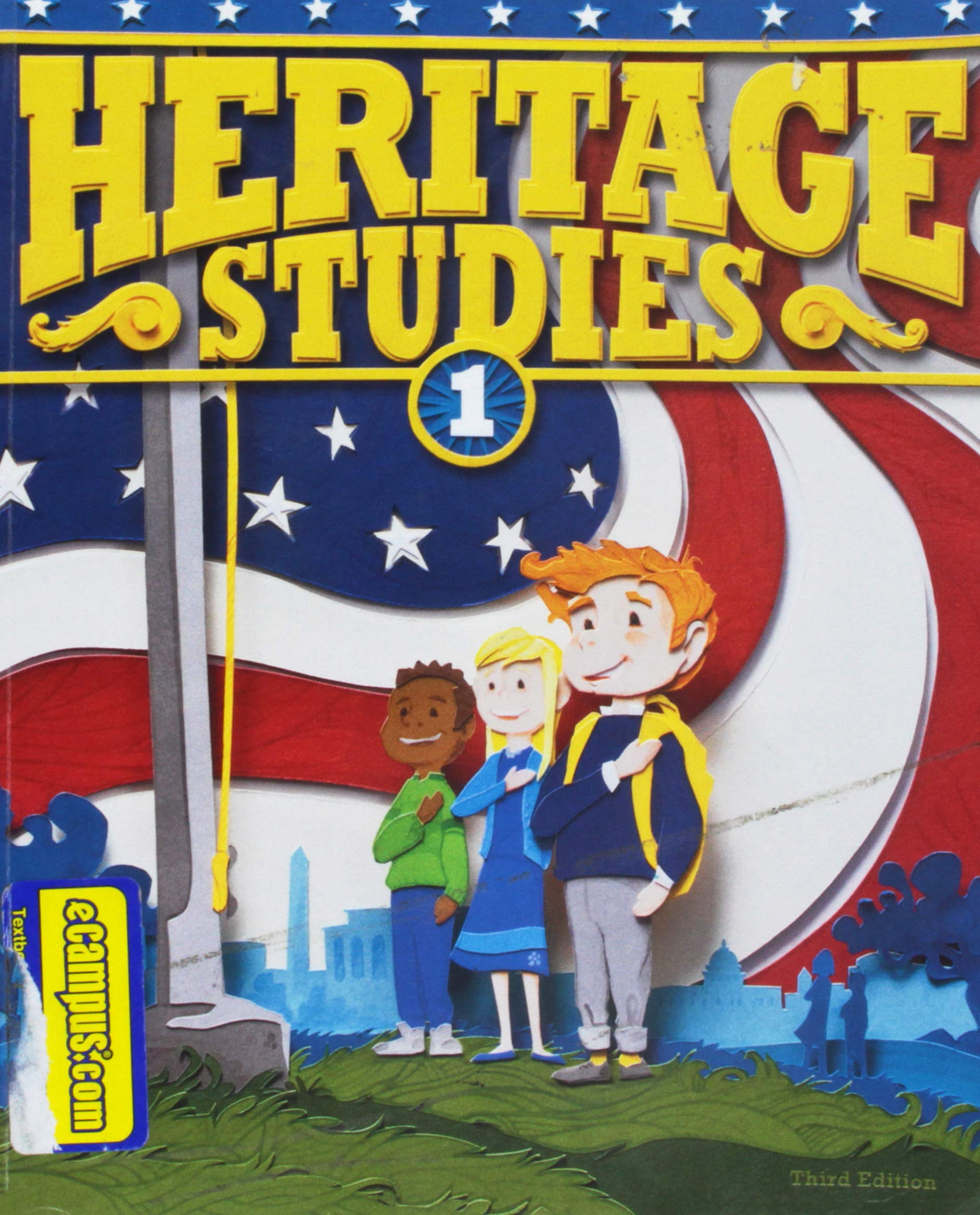 Heritage Studies Student Grade 1 3rd Edition Bju Press