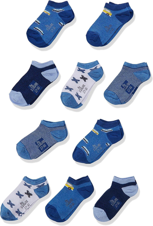 s.Oliver Socks Calcetines, Pack de 10 para Ni/ños