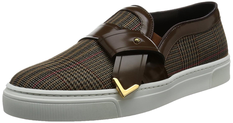 [ルイリーマン] LOUIS LEEMAN スニーカー LL0272-SIM-GAA-TAMOR Slip On Sneaker with Tie B01HF55BTM