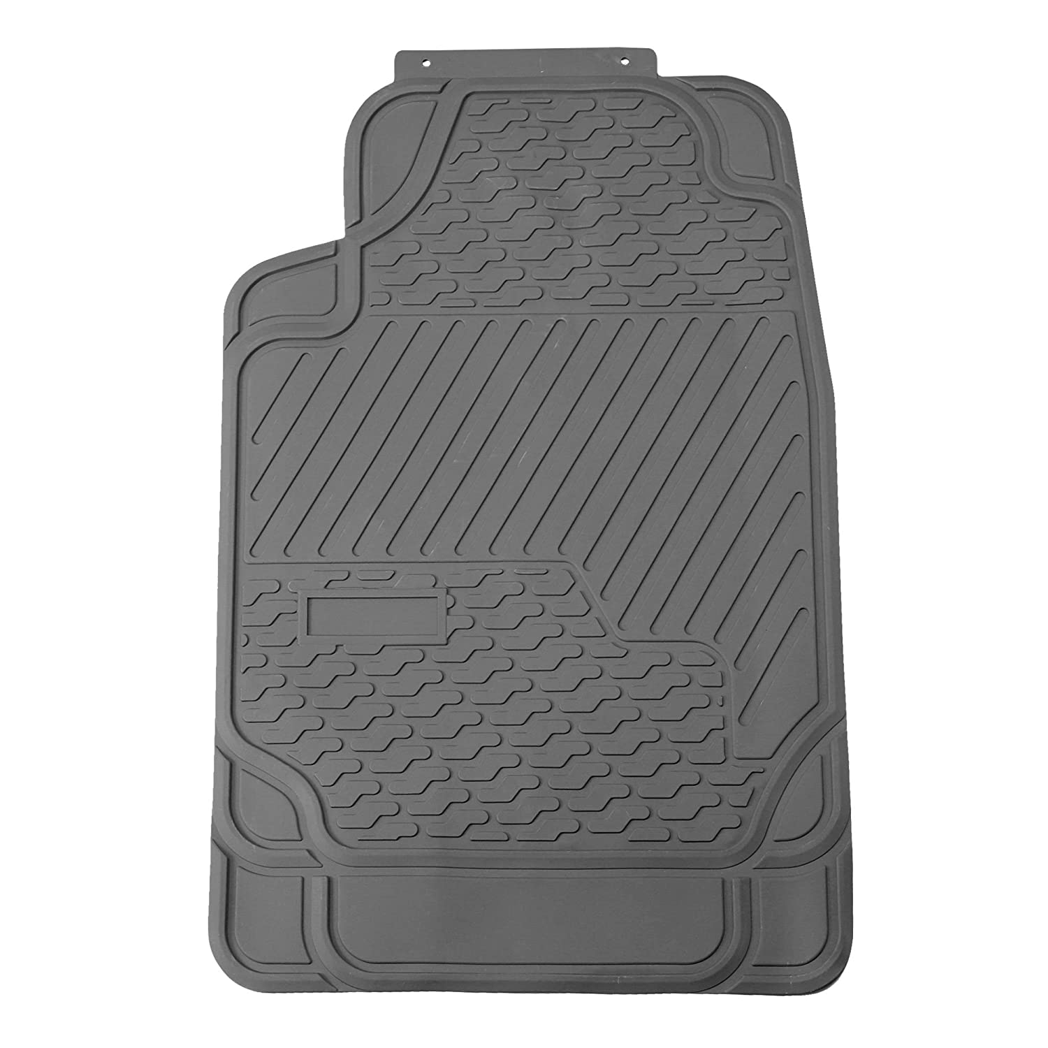FH Group F11309GRAY Gray All Weather Floor Mat Heavy Duty 3 Piece