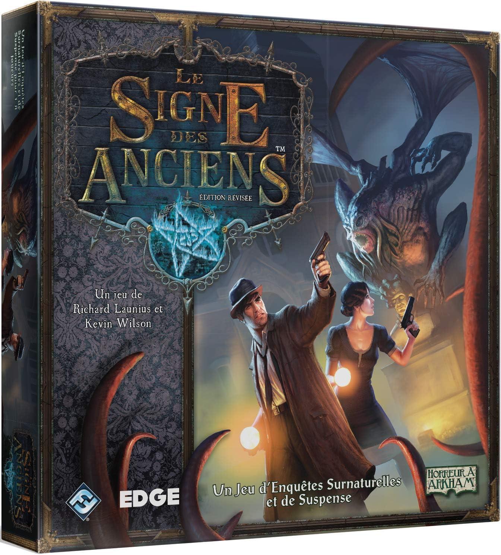 Edge Entertainment Elder Sign Niños y Adultos Viajes/Aventuras - Juego de Tablero (Viajes/Aventuras, Niños y Adultos, 120 min, Niño/niña, 13 año(s), 156 Pieza(s)): Amazon.es: Juguetes y juegos