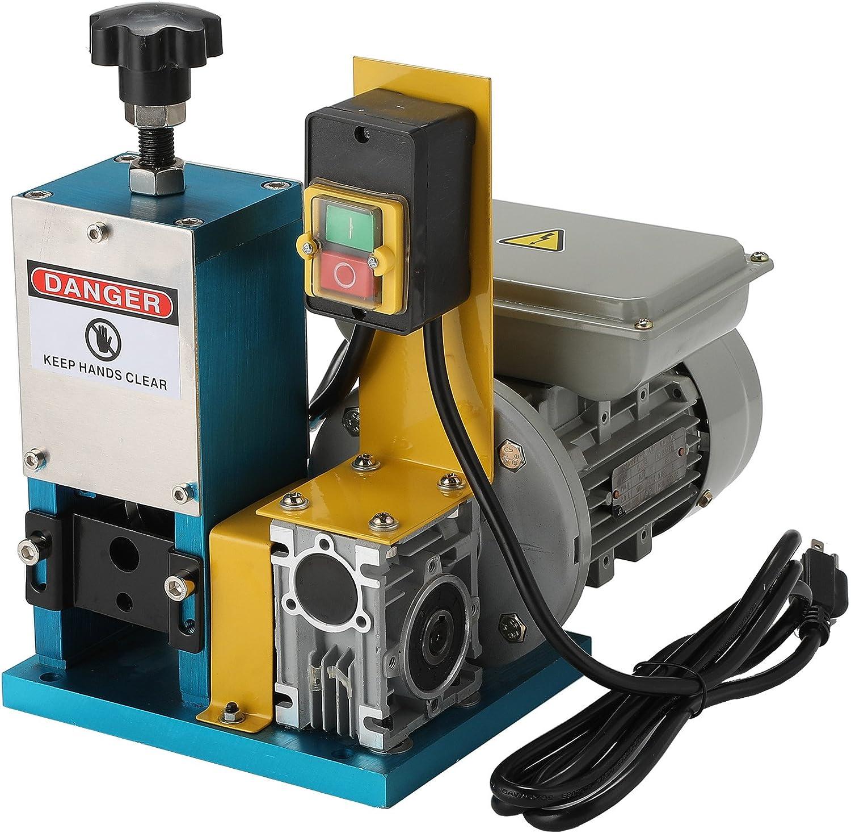 Sfeomi Máquina Electrónica de Pelacable 1.5mm-25mm Máquina de Pelacable Máquina Peladora de Cables para Reciclaje de Chatarra de Cobre