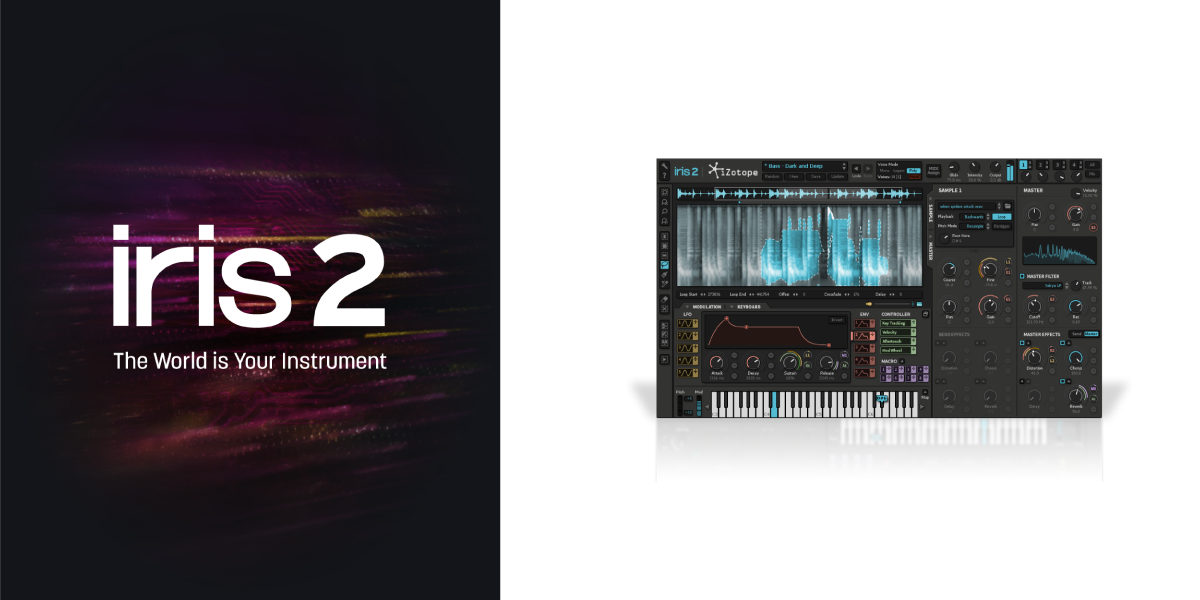 Iris 2: Virtual Instrument Plug-in, iZotope, Inc. [Online Code]