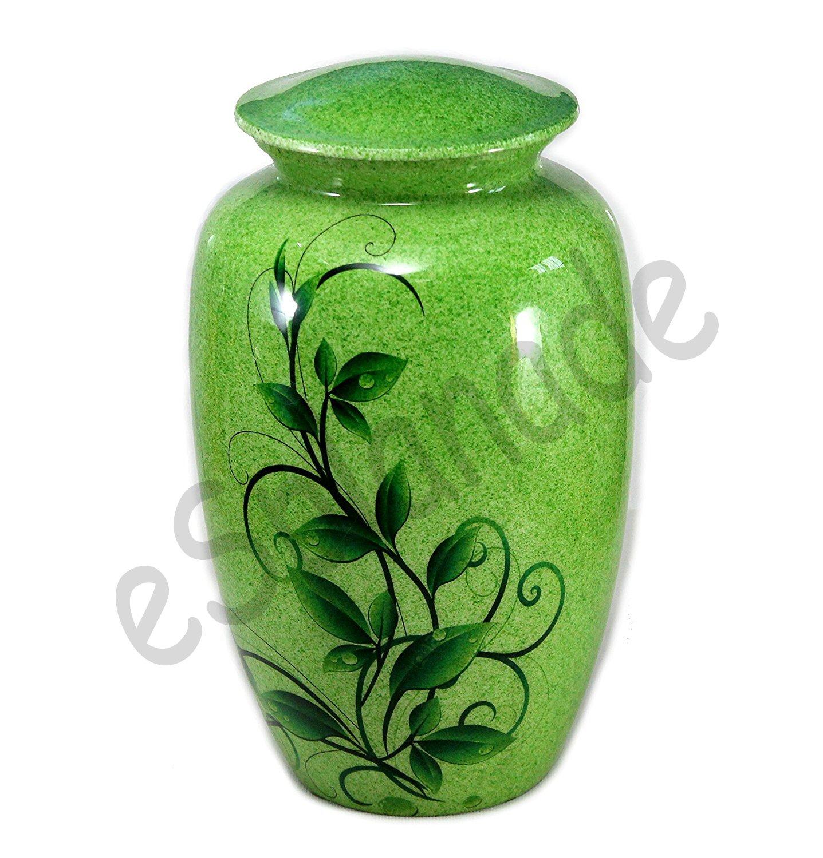 eSplanade Cremation urn Memoria l Container Jar Pot   Full Size Standard Urns   Metal Urns   Burial Urns   Cremation urn.