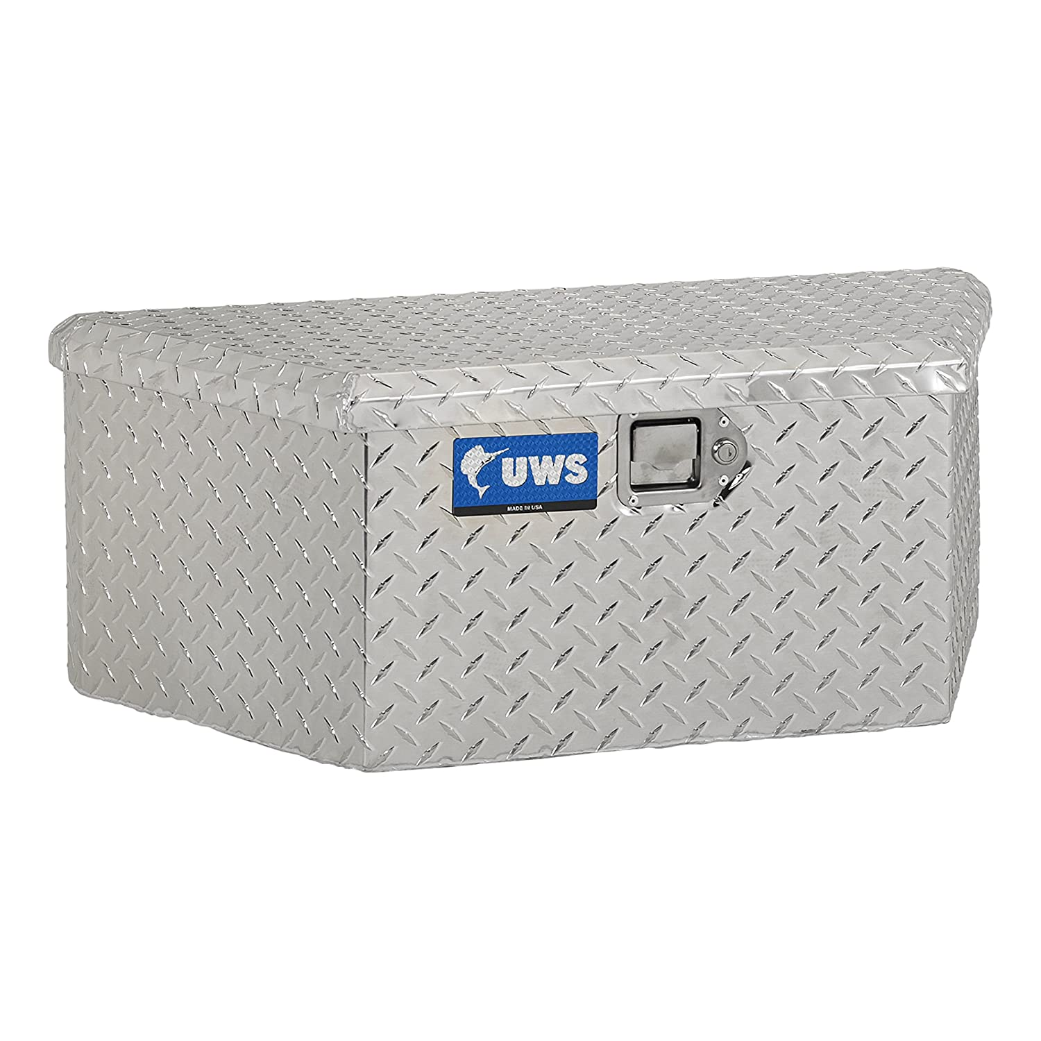 UWS TBV-34-LP 34 Low Profile Trailer Box with Beveled Insulated Lid