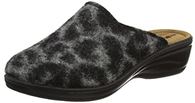 Rohde Damen 4484 Pantoffeln, Grau (Anthrazit), 36 EU 0cabbe6b13