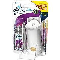 Desodorizador Glade Toque de Frescor Aparelho + Refil Lavanda Oferta 12Ml
