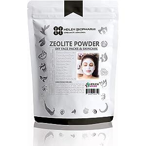 polvo de zeolita para el paquete facial (tratamiento de desintoxicación y acné)(ZEOLITE