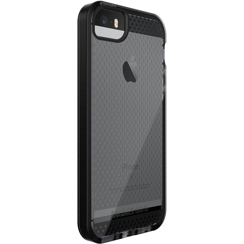 finest selection f2420 5b025 Tech21 Evo Mesh for iPhone 5/5s/SE - Smokey/Black