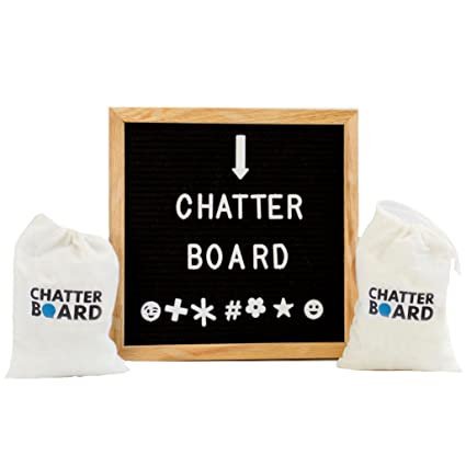 Felt Letter Board Best For Instagram With Changeable Letters Numbers And Symbols Plus Emojis 2 Storage Bags Included 690 Characters