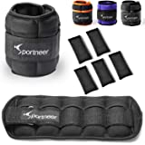 Sportneer Ankle Weights, Adjustable Weights Wrist Weight Straps for Fitness, Walking, Jogging, Workout | 0.5-3.5 lbs Per…