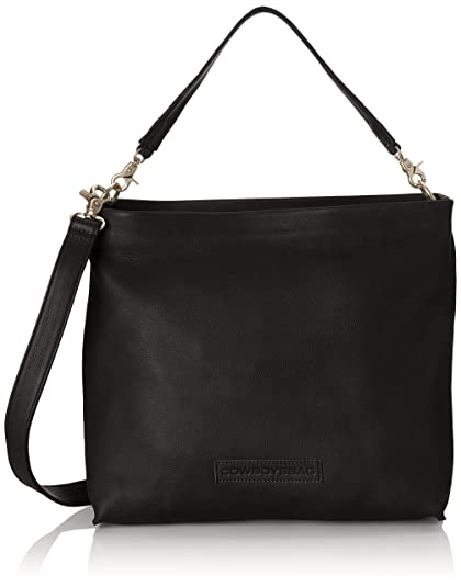 ed12aaf0a92 Cowboysbag Bag Homer, Women's Shoulder Bag, Black, 4x4x4 cm (B x H T ...