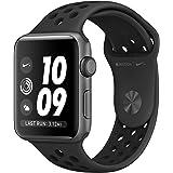 Apple Watch Nike+ Series 3 - Cassa 42 mm in Alluminio Grigio Siderale - Cinturino Nike Sport Antracite/Nero